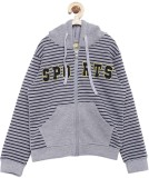 Yk Full Sleeve Striped Boys Sweatshirt