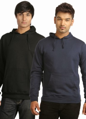 Campus Sutra Full Sleeve Solid Mens Sweatshirt