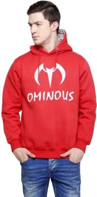 Ominous Full Sleeve Solid Men's Sweatshirt