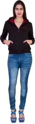 Impact Creators Full Sleeve Solid Women's Sweatshirt