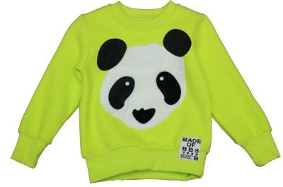 Habooz Full Sleeve Animal Print Boy's Sweatshirt