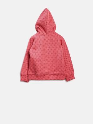 Yellow Kite Full Sleeve Printed Baby Girl's Sweatshirt