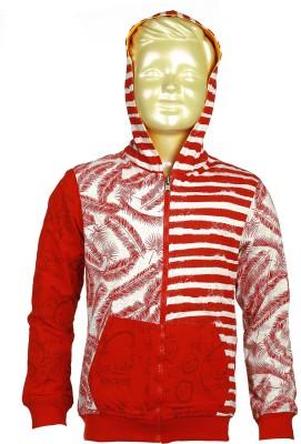 Lumber Boy Full Sleeve Printed Boy's Reversible Sweatshirt