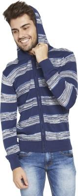 Globus Full Sleeve Striped Men's Sweatshirt