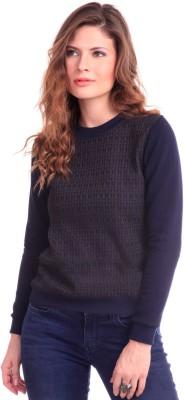 Sassafras Full Sleeve Printed Women's Sweatshirt