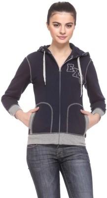 EX10SIVE Full Sleeve Solid Women's Sweatshirt