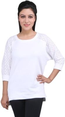 LondonHouze Full Sleeve Solid Women's Sweatshirt