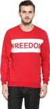 Rigo Full Sleeve Solid Men's Sweatshirt