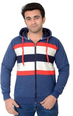 High Hill Full Sleeve Striped Men's Sweatshirt