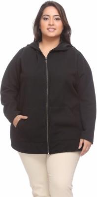 PlusS Full Sleeve Solid Women's Sweatshirt