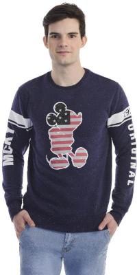 Mickey & Friends Full Sleeve Printed Men's Sweatshirt