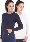 Espresso Full Sleeve Solid Women's Rever...