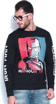 Kook N Keech Marvel Full Sleeve Printed Men's Sweatshirt