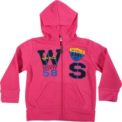 Zonko Style Full Sleeve Printed Baby Girl's Sweatshirt