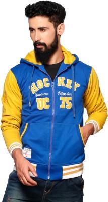 Nucode Full Sleeve Embroidered Men's Sweatshirt