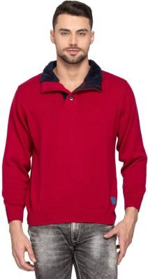 Spykar Full Sleeve Solid Men's Sweatshirt