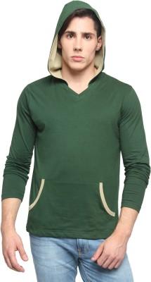 Pepperclub Full Sleeve Solid Men's Sweatshirt
