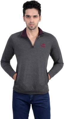 Gazelle Active Full Sleeve Solid Men's Sweatshirt