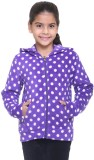 Kids-17 Full Sleeve Solid Girls Sweatshi...