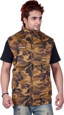 Absurd Sleeveless Solid Men's Reversible Sweatshirt