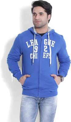 John Players Full Sleeve Solid Men's Sweatshirt