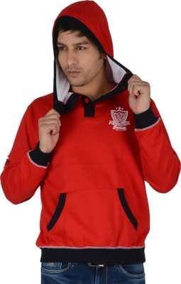 Integriti Full Sleeve Solid Men's Sweatshirt