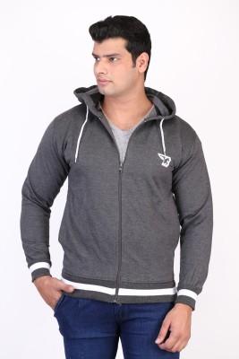 Burdy Sleeveless Solid Men's Sweatshirt