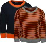 Pepito Full Sleeve Solid Boys Sweatshirt