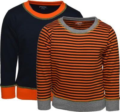 Pepito Full Sleeve Solid Boy's Sweatshirt