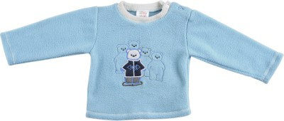 Tillu Pillu Full Sleeve Solid Baby Boys Sweatshirt