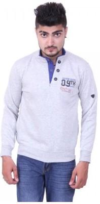 Austrich Full Sleeve Solid Men's Sweatshirt