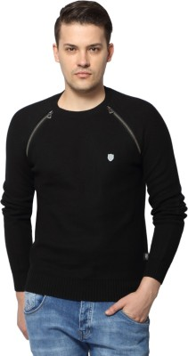 883 Police Full Sleeve Self Design Men's Sweatshirt