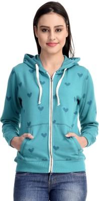 Belly Bottom Full Sleeve Printed Women's Sweatshirt