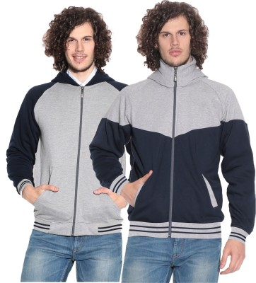 Leana Full Sleeve Solid Men's Sweatshirt