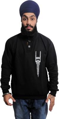 Khalsa United Full Sleeve Printed Men,s Sweatshirt