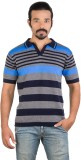 PALSUN WEARS Half Sleeve Striped Men's S...