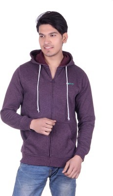 Melzo Full Sleeve Solid Men's Sweatshirt