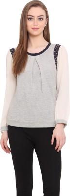 Porsorte Full Sleeve Solid Women's Sweatshirt