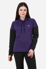Creez Full Sleeve Solid Women's Sweatshirt