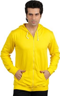 Maya Full Sleeve Solid Men's Sweatshirt