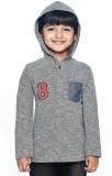 Ventra Full Sleeve Solid Boys Sweatshirt