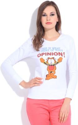 Garfield Full Sleeve Printed Women's Sweatshirt