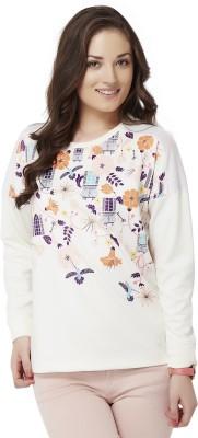 Chumbak Full Sleeve Printed Women's Sweatshirt