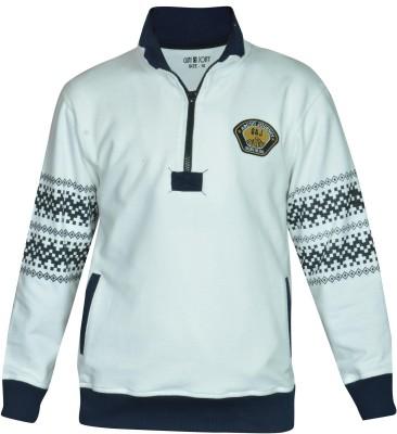 Gini & Jony Full Sleeve Printed Boy's Sweatshirt