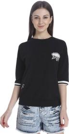 Only Half Sleeve Printed Women's Sweatshirt