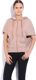 United Colors of Benetton Sleeveless Solid Women's Sweatshirt