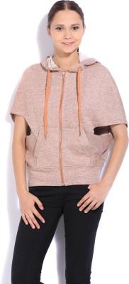 United Colors of Benetton Sleeveless Solid Womens Sweatshirt