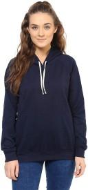 Purys Full Sleeve Solid Women's Sweatshirt