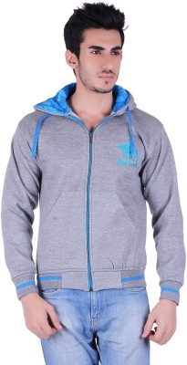 Skylark Full Sleeve Embroidered Men's Sweatshirt