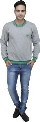 Sobre Estilo Full Sleeve Solid Men's Sweatshirt